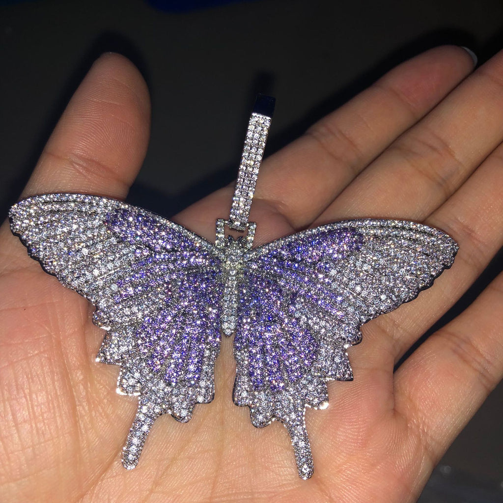 iced-out-butterfly-design-pendant-cuban-chain-necklace-dripwatch.store