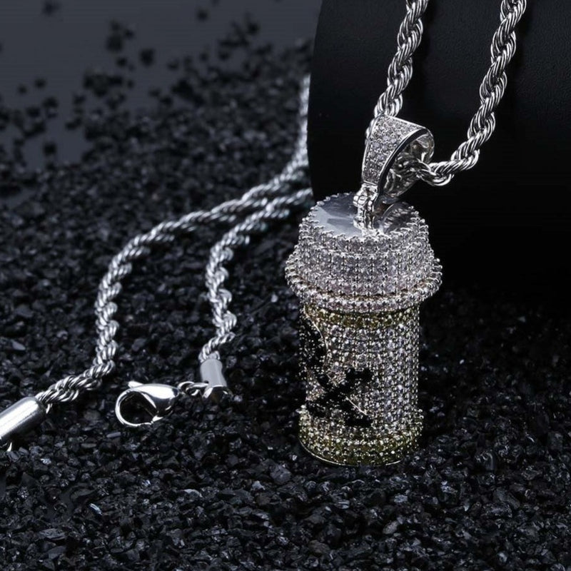 Medicine Bottle Pendant