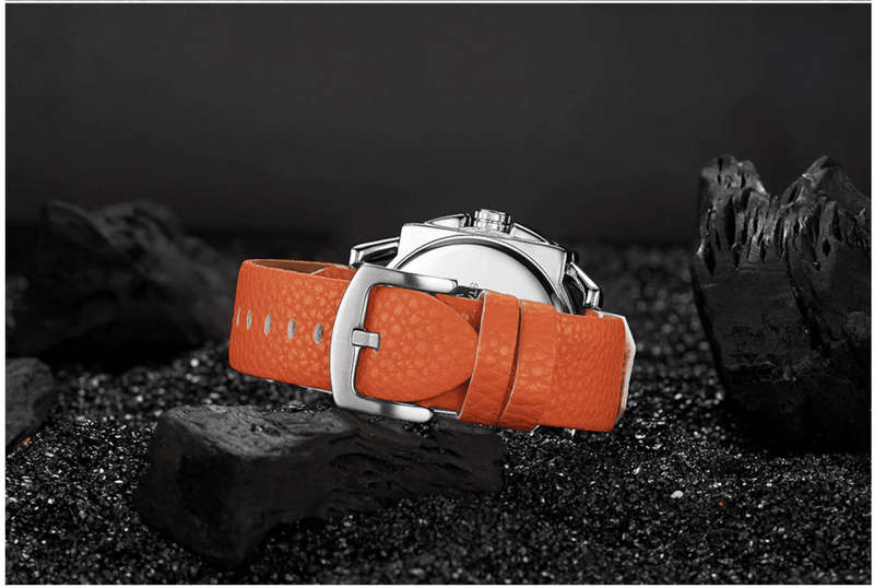 orange-leather-band-sports-analog-quartz-watch-dripwatch.store