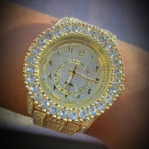 18k-gold-iced-out-presidential-arabic-dial-hip-hop-watch-for-men-dripwatch.store