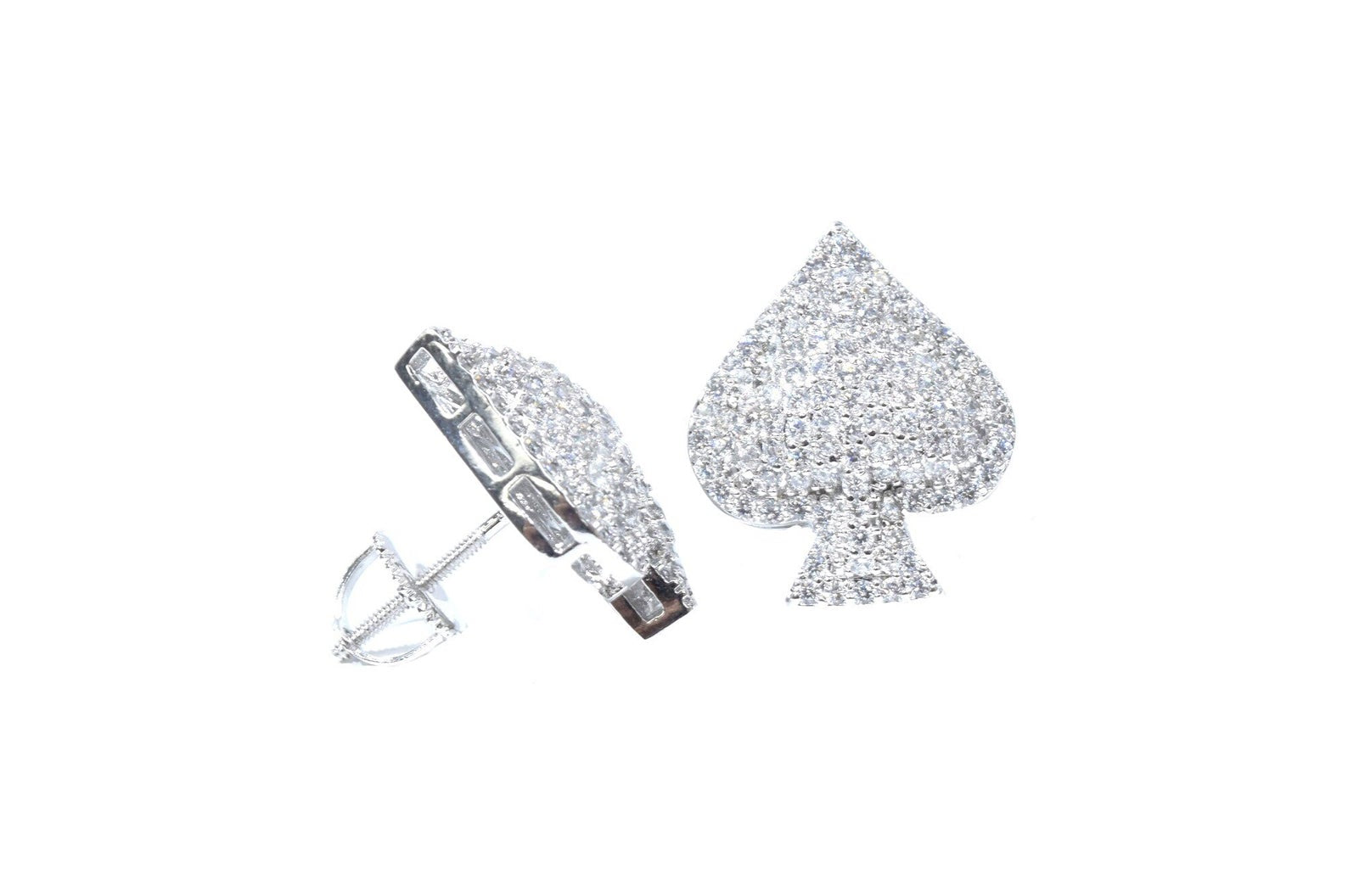 ace-of-spades-white-gold-finish-iced-out-vvs-lab-diamond-earrings-dripwatch.store