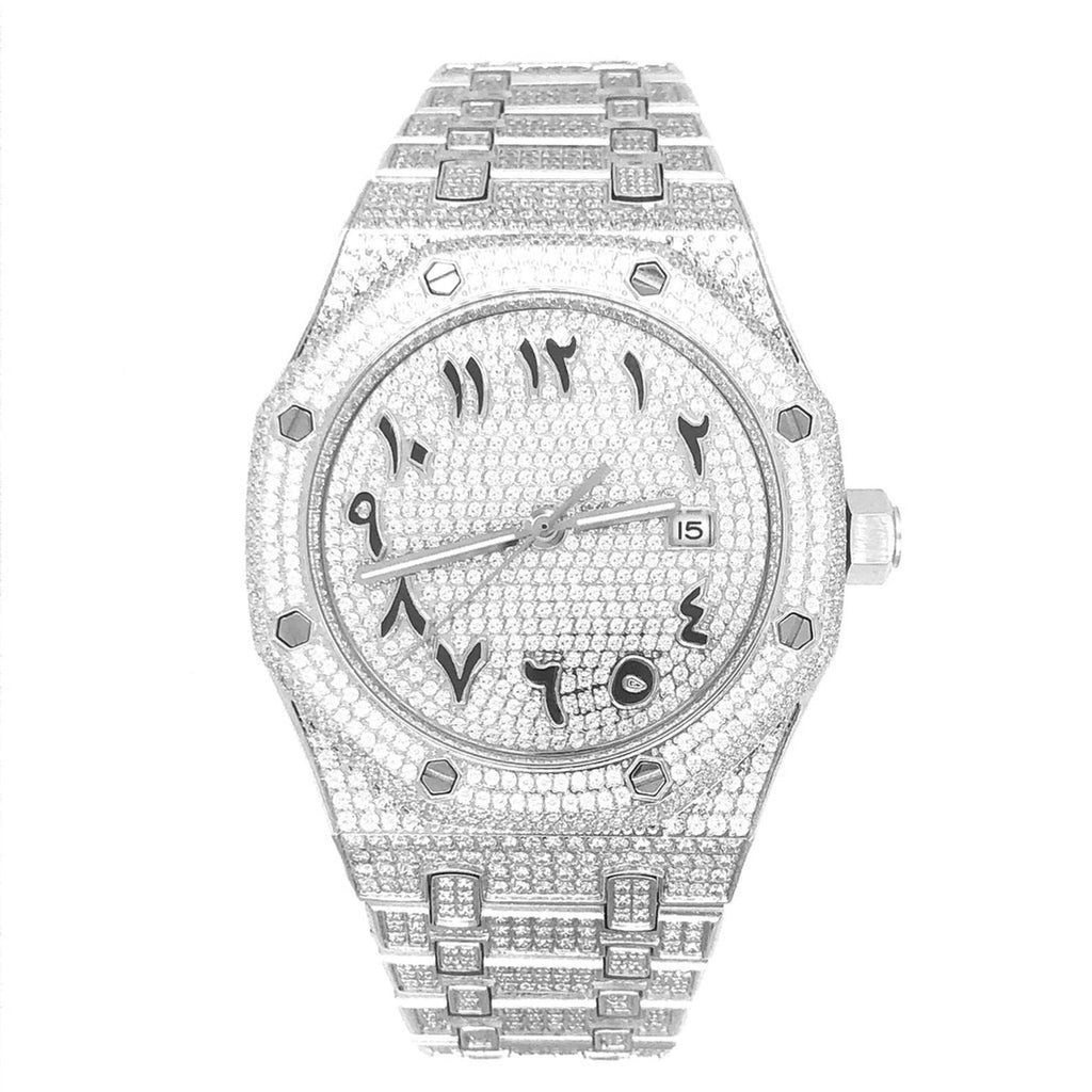 18k-white-gold-iced-out-arabic-dial-bust-down-watch-dripwatch.store