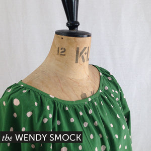 MAVEN sewing Patterns. The Wendy Smock