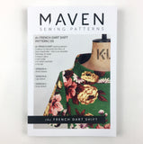 MAVEN sewing Patterns. The French Dart Shift.