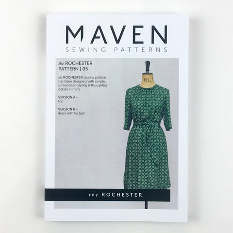 MAVEN sewing Patterns. The Rochester.