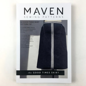 MAVEN sewing Patterns. The Good Times Skirt.
