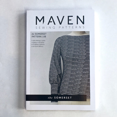 MAVEN sewing Patterns. The Somerset.