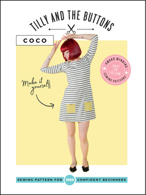 Tilly and The Buttons, Coco Top and Dress