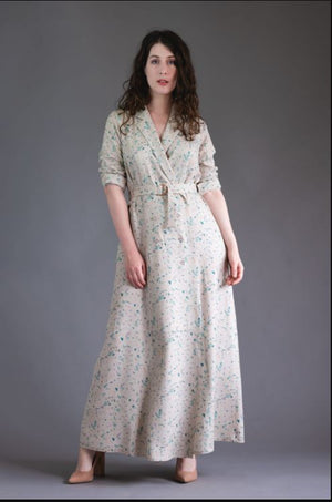 Passiflore Dress By Deer and Doe Patterns