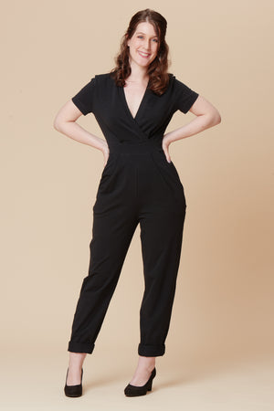 Sirocco Jumpsuit By Deer and Doe Patterns