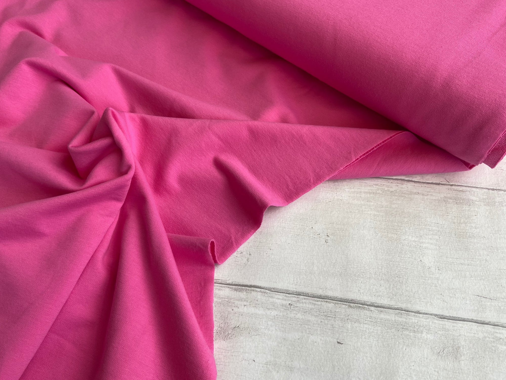 French Terry, Pink €14 per mtr