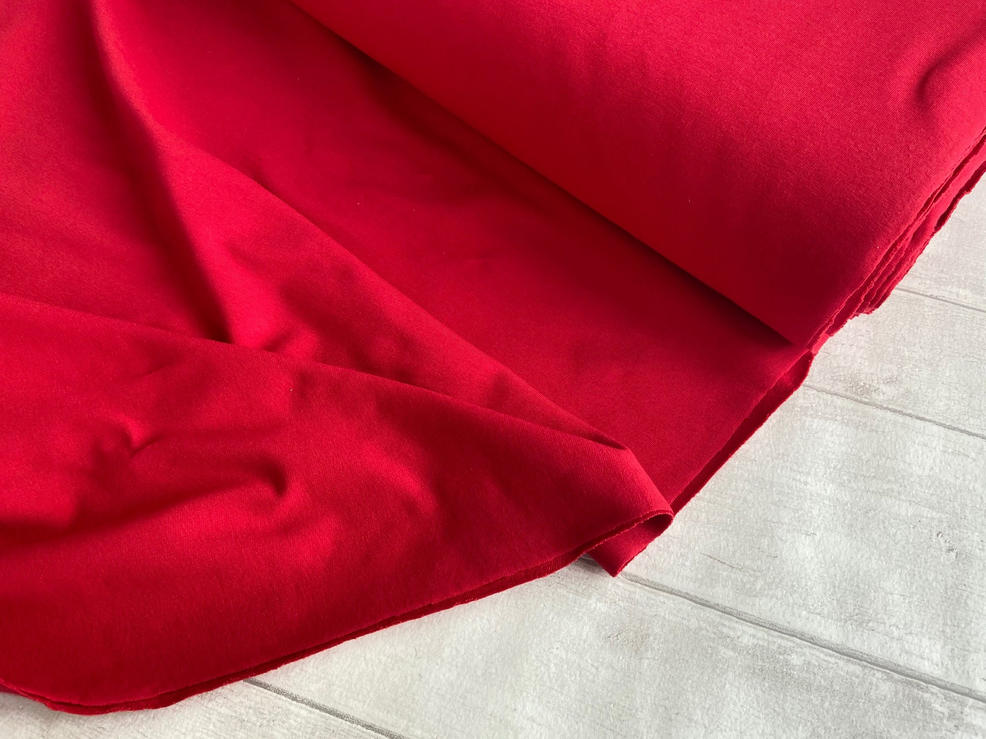 French Terry, Red €14 per mtr