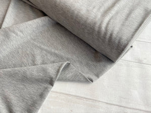 French Terry Melange, Light Grey €14 per mtr