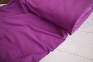 French Terry, Purple €14 per mtr
