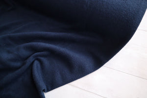 Melange Knit winter jersey ,Navy €16.50 per mtr