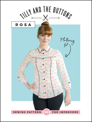 Tilly and The Buttons, Rosa Shirt and Shirt Dress.