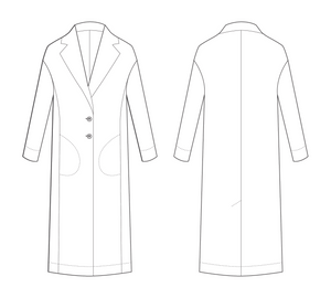 Avid Seamstress Patterns, The Coat.