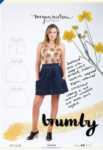 Megan Nielsen, Brumby sewing pattern