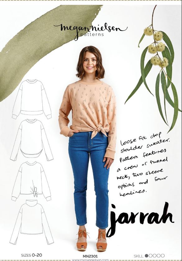 Megan Nielsen, Jarrah sewing pattern