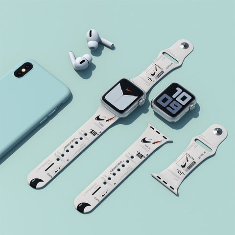 off white x nike apple watch band