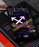 Hypebeast Inspired LED iPhone Case