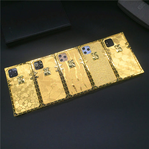 gold iphone case