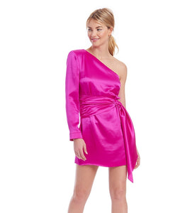 Aubrianna Dress - Hot Pink