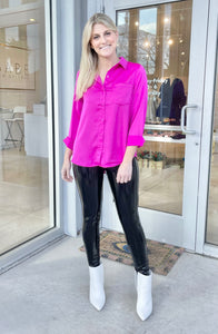Melissa Blouse - Hot Pink