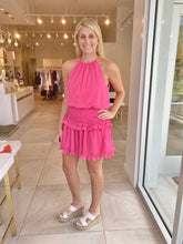 Load image into Gallery viewer, Pink Smocked Mini