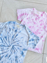 Load image into Gallery viewer, BABE TieDye Tee - Pink