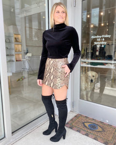 Simon Snake Skirt