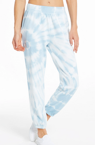 Emery Spiral Jogger - Blue Agave