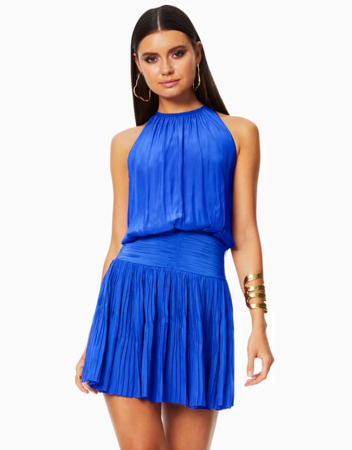 Jacqueline Dress - Electric Blue