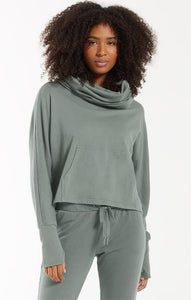 Easy Cowl Top - Green