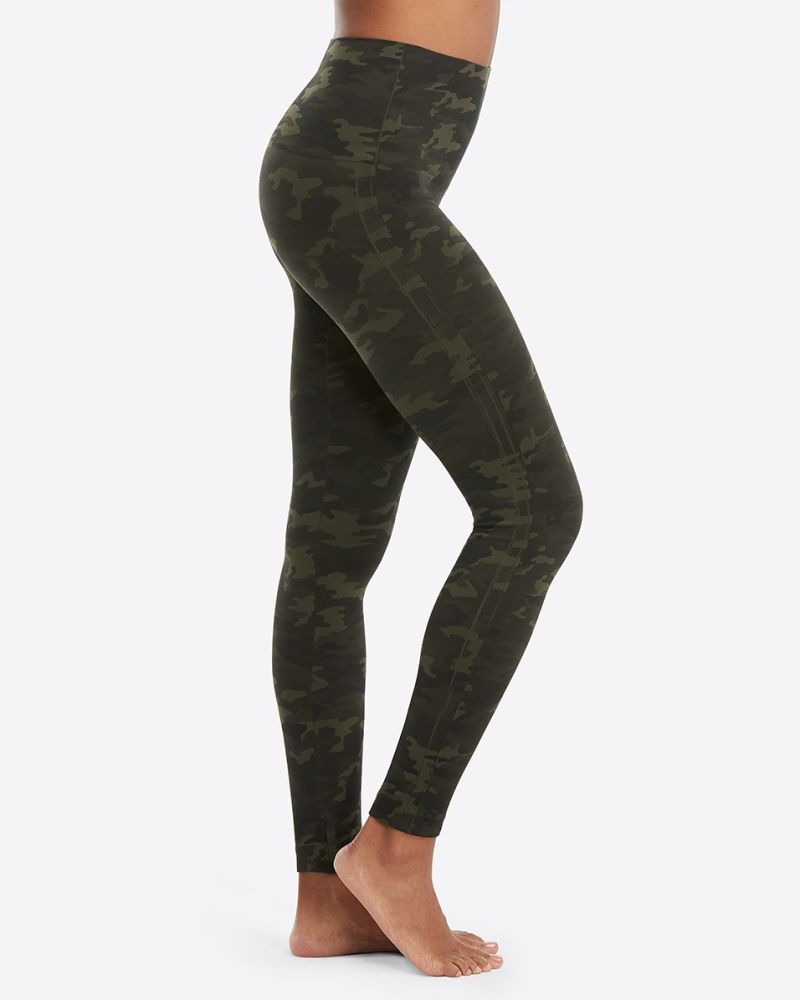 Look at Me Now Leggings - Green Camo