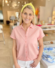 Load image into Gallery viewer, Pam Shirt - Frosted Peach