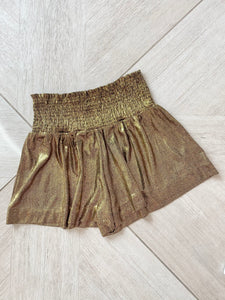 Sally Shorts - Gold