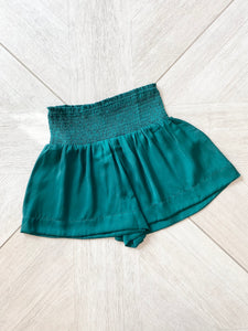 Sally Shorts - Hunter Green