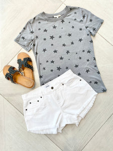 Easy Star Tee - Charcoal