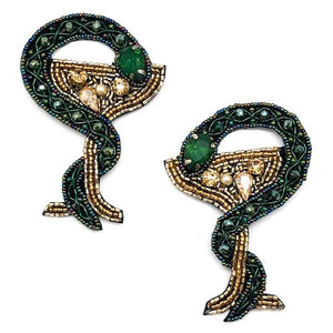 Snake Martini Earrings