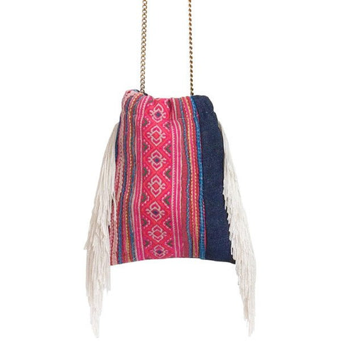 Flower Tribe Cha Cha Fringe Bag