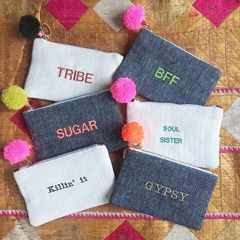 GAIA Text Pouches