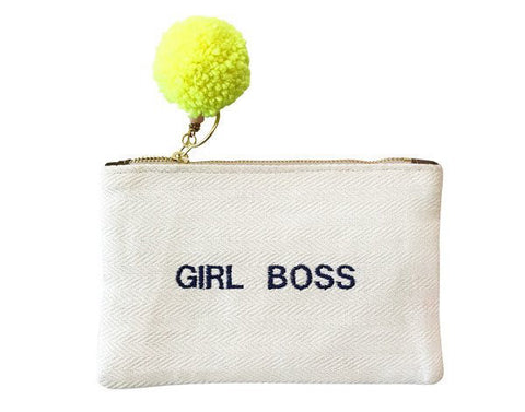 GAIA Text Pouches Girl Boss
