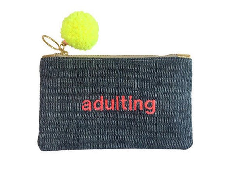 GAIA Text Pouches Adulting