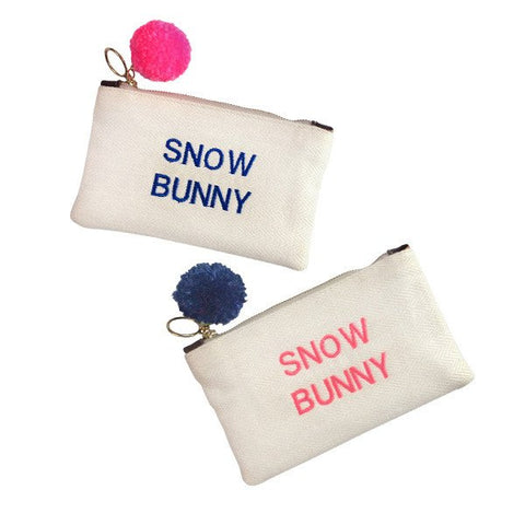 GAIA Text Pouches Snow Bunny