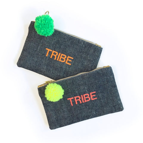 GAIA Text Pouches Tribe