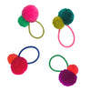 Pom Pom Hair Tie - Pink Band