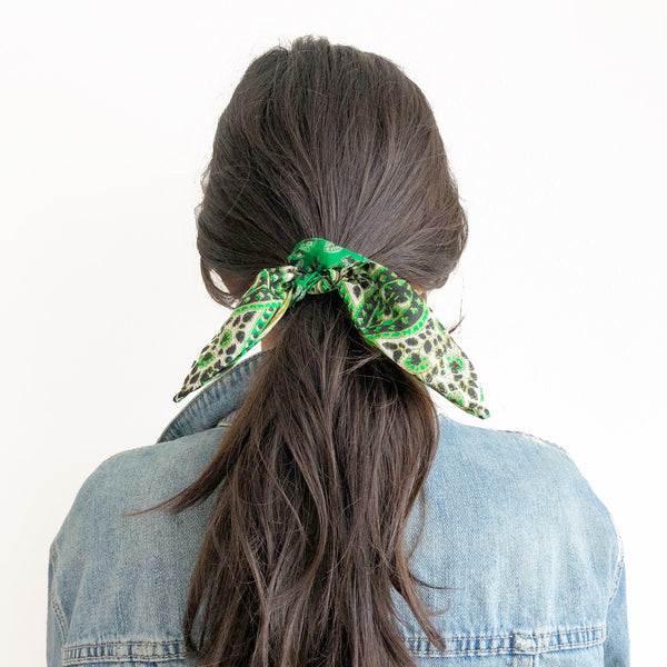 Scrunchie - Kelly Green