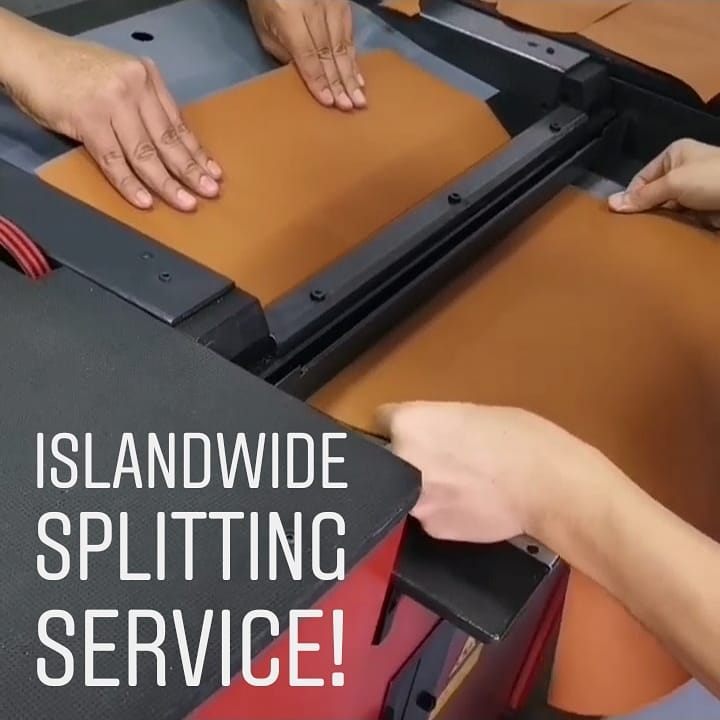 Leather Splitting Services