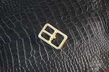 Load image into Gallery viewer, Solid Brass Rectangle Buckles